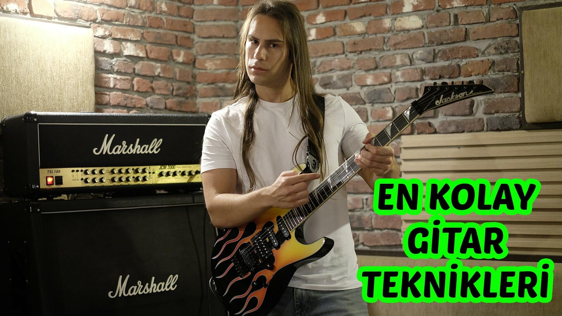 En Kolay 6 Elektro Gitar Tekniği