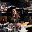 Tüm Enstrumanları Çalmak ve Şarkı Söylemek (Davul, Bas Gitar, Elektro Gitar, Vokal)
