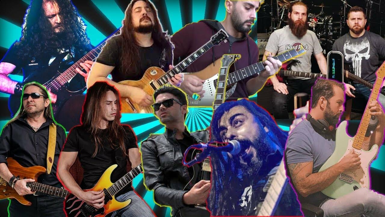 Youtube TÜRKİYE Gitaristleri Shred collab song 2019