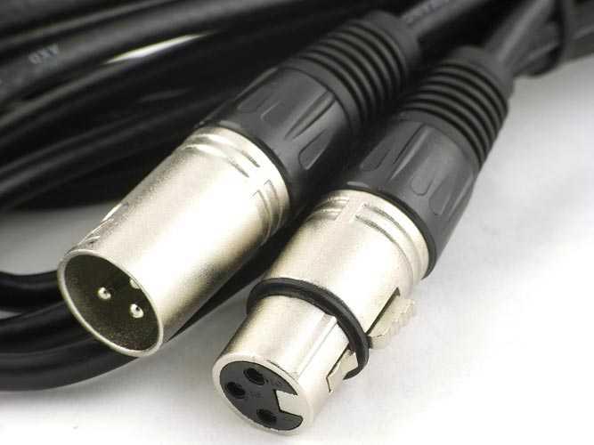 Mikrofonu ses kartına bağlamak için XLR Kablo Ev Stüdyosu